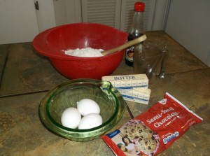 Rhea's cooking