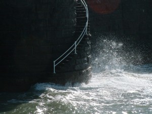sea stairs