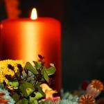 Candle - wreathjpg