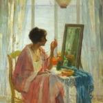woman - mirror
