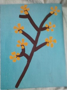 Orange flowers - Katie